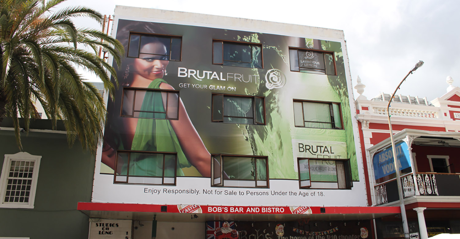Brutal Fruit - Top4 - brutal-fruit-jhb-building-wrap 1
