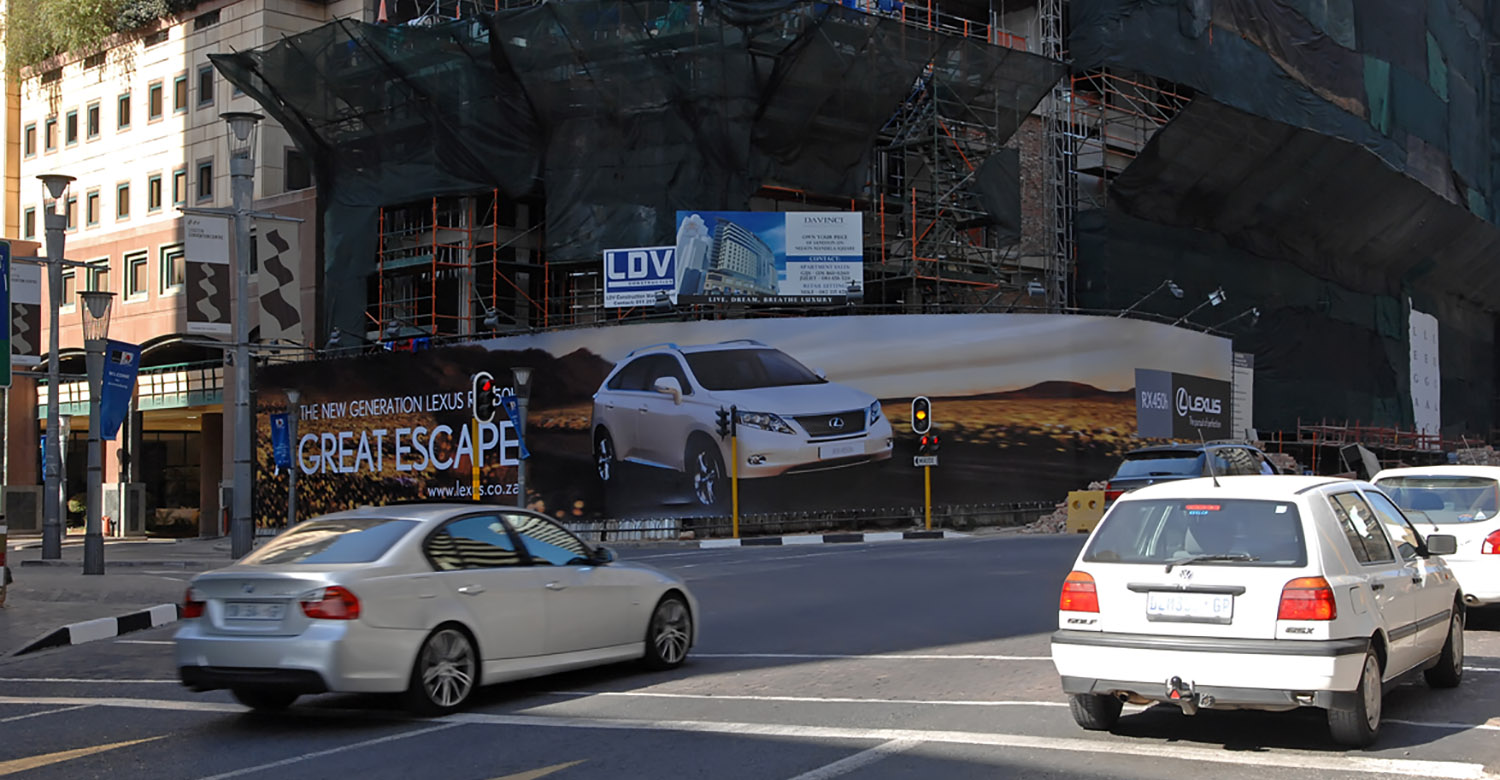 Lexus - JHB - lexus-jhb-construction-advertising