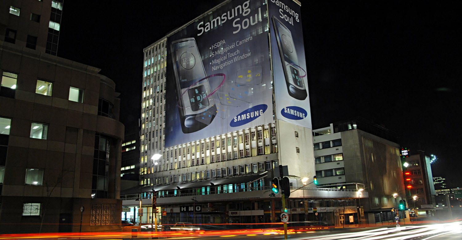 Samsung - Top4 - samsung-jhb-building-wraps